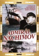 Admiral Nakhimov - Czech DVD cover (xs thumbnail)