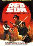 Soleil rouge - German Movie Poster (xs thumbnail)