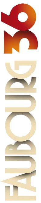 Faubourg 36 - French Logo (xs thumbnail)