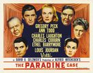The Paradine Case - Movie Poster (xs thumbnail)