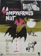 Dance of the Vampires - Danish Movie Poster (xs thumbnail)
