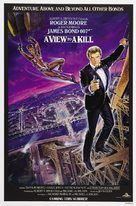 A View To A Kill - Movie Poster (xs thumbnail)