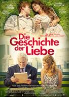 The History of Love - German Movie Poster (xs thumbnail)
