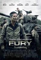 Fury - Thai Movie Poster (xs thumbnail)