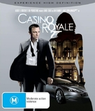 Casino Royale - Australian Blu-Ray cover (xs thumbnail)