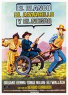 Il bianco, il giallo, il nero - Spanish Movie Poster (xs thumbnail)