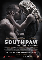 Southpaw - Romanian Movie Poster (xs thumbnail)