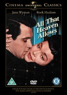 All That Heaven Allows - British Movie Cover (xs thumbnail)