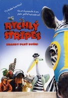 Racing Stripes - Czech Movie Cover (xs thumbnail)