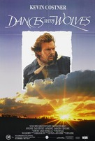 Dances with Wolves - Australian DVD cover (xs thumbnail)