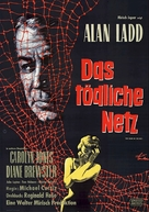 The Man in the Net - German Movie Poster (xs thumbnail)