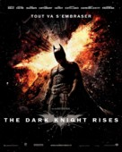 The Dark Knight Rises - French Movie Poster (xs thumbnail)