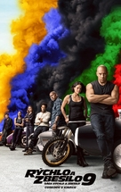 Fast & Furious 9 - Slovak Movie Poster (xs thumbnail)