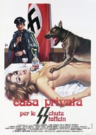 Casa privata per le SS - Italian Movie Poster (xs thumbnail)