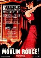 Moulin Rouge - Portuguese Movie Poster (xs thumbnail)