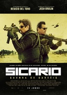 Sicario: Day of the Soldado - Portuguese Movie Poster (xs thumbnail)