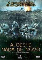 All Quiet on the Western Front - Portuguese DVD movie cover (xs thumbnail)