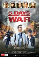 5 Days of War - Australian Movie Poster (xs thumbnail)
