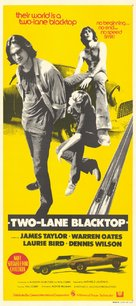 Two-Lane Blacktop - Australian Movie Poster (xs thumbnail)