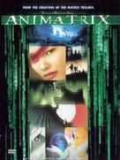 The Animatrix - Czech DVD cover (xs thumbnail)
