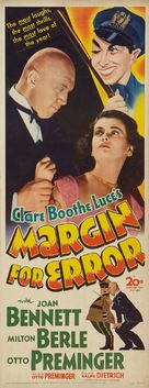 Margin for Error - Movie Poster (xs thumbnail)