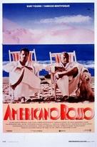 Americano rosso - Italian Movie Poster (xs thumbnail)