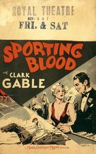 Sporting Blood - Movie Poster (xs thumbnail)