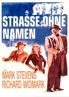 The Street with No Name - German Movie Poster (xs thumbnail)