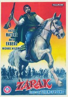 Zarak - Spanish Movie Poster (xs thumbnail)