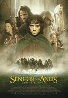 The Lord of the Rings: The Fellowship of the Ring - Brazilian Movie Poster (xs thumbnail)