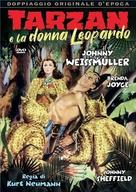 Tarzan and the Leopard Woman - Italian DVD movie cover (xs thumbnail)