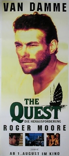 The Quest - German Movie Poster (xs thumbnail)