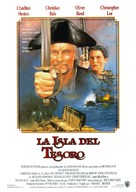 Treasure Island - Spanish Movie Poster (xs thumbnail)