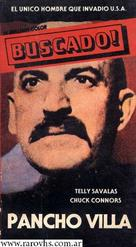 Pancho Villa - Argentinian VHS movie cover (xs thumbnail)
