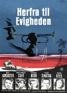 From Here to Eternity - Danish Movie Poster (xs thumbnail)