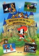"""D'Artacan y los tres mosqueperros"" - Movie Poster (xs thumbnail)"