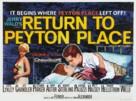Return to Peyton Place - British Movie Poster (xs thumbnail)