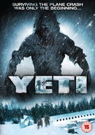 Yeti: Curse of the Snow Demon - British Movie Cover (xs thumbnail)