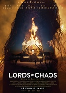 Lords of Chaos - Norwegian Movie Poster (xs thumbnail)