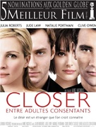 Closer - French Movie Poster (xs thumbnail)