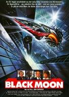 Black Moon Rising - German Movie Poster (xs thumbnail)