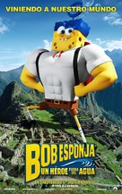The SpongeBob Movie: Sponge Out of Water - Peruvian Movie Poster (xs thumbnail)