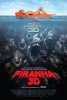 Piranha - Danish Movie Poster (xs thumbnail)