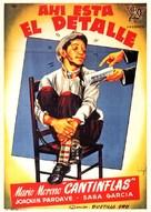 Ahí está el detalle - Spanish Movie Poster (xs thumbnail)