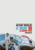 Ford v. Ferrari - Italian Movie Poster (xs thumbnail)