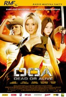 Dead Or Alive - Polish Theatrical poster (xs thumbnail)