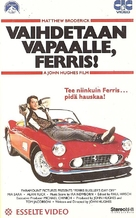 Ferris Bueller's Day Off - Finnish VHS movie cover (xs thumbnail)