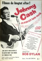Johnny Cash! The Man, His World, His Music - Swedish Movie Poster (xs thumbnail)