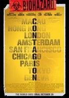 Contagion - Dutch Movie Poster (xs thumbnail)