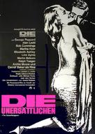 The Carpetbaggers - German Movie Poster (xs thumbnail)